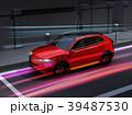 急速充電 自動車 SUVのイラスト 39487530