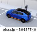 電気自動車 SUV 電動SUVのイラスト 39487540