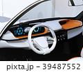 電気自動車 自動運転 ダッシュボードのイラスト 39487552