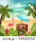 夏 景色 風景のイラスト 39489350