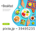Breakfast Colored Background 39495235