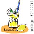 レモネード 飲み物 ジュースのイラスト 39499012