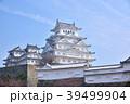 春の姫路城 白鷺城 世界遺産姫路城 国宝姫路城  39499904