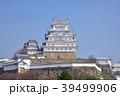 春の姫路城 白鷺城 世界遺産姫路城 国宝姫路城  39499906
