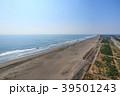 九十九里白子町インター付近を空撮 39501243