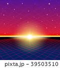 80 レトロ ネオンのイラスト 39503510