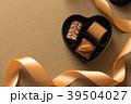 チョコ チョコレート プレゼントの写真 39504027