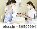 女性 治療 歯医者の写真 39509994