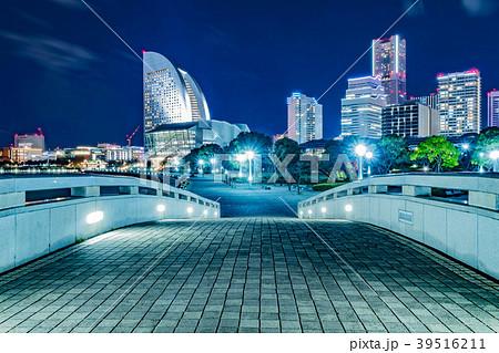 みなとみらいの夜景(臨港パーク) 39516211