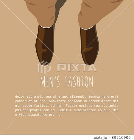 men fashion sale advertisement template backgroundのイラスト素材