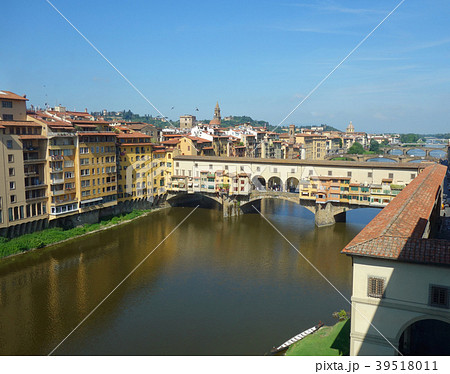 イタリア フィレンツェ ヴェッキオ橋 Italy Florence Ponte Vecchio 39518011