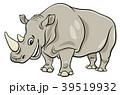 サイ さい 犀のイラスト 39519932
