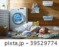 洗濯 洗濯物 ランドリーの写真 39529774