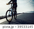 バイク 自転車 サイクリストの写真 39533145