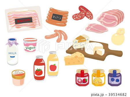 「加工食品 イラスト」の画像検索結果