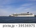 大型客船 クルーズ船 横浜港の写真 39536975