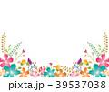 フレーム 花 植物のイラスト 39537038