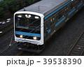 京浜東北線209系(流し撮り) 39538390