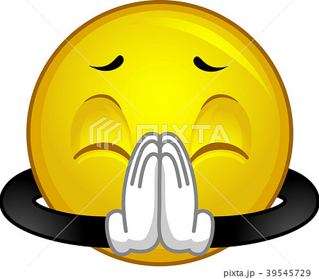 Mascot Smiley Please Illustration 39545729