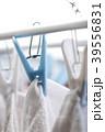 洗濯 (干す 空 タオル 洗濯バサミ ランドリー 物干し 衣類 ファッション 清潔 仕事 ビジネス) 39556831