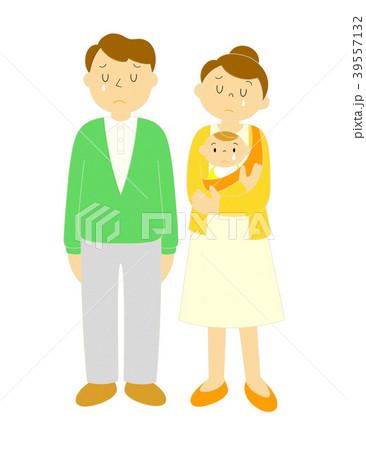 夫婦 赤ちゃん 泣く 39557132