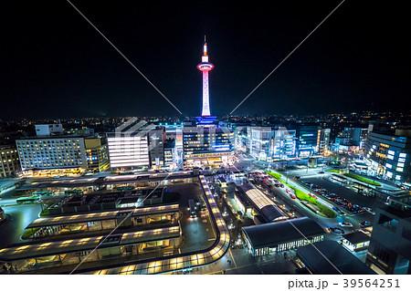 《京都府》京都タワーの夜景 39564251