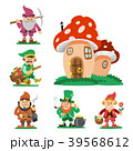 Fairy tale fantastic gnome dwarf elf character 39568612