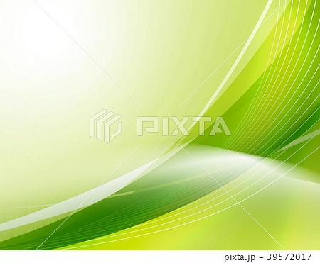 エコロジー エコ背景 抽象背景 ウェーブ 曲線模様 抽象模様 アブストラクト  39572017
