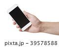 スマホを操作する手 39578588