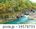 厳美渓 渓谷 紅葉の写真 39578733