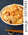 キムチと豚肉の炒め物 39579081