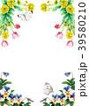 植物 花 水彩のイラスト 39580210
