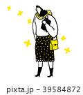 イラスト 女性 女のイラスト 39584872
