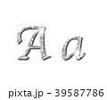 シャイニング シルバー 銀のイラスト 39587786