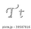 シルバー 銀 銀色のイラスト 39587816