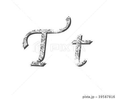 Shinning silver luxury typographic alphabet text 39587816