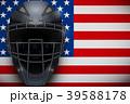 ヘルメット かぶと キャッチャーのイラスト 39588178