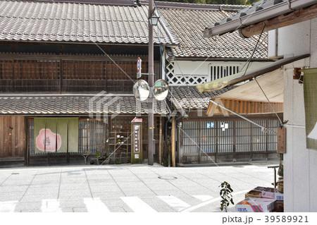 【岡山県 真庭市】勝山の古い町並み 39589921