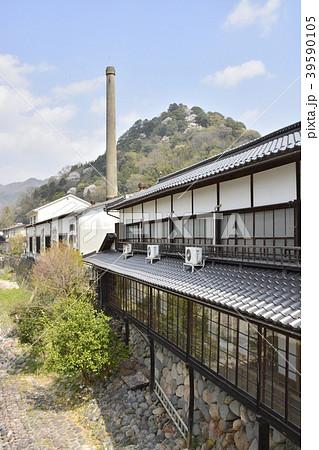 【岡山県 真庭市】勝山の古い町並み 39590105
