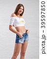 女性 バックグラウンド 背景の写真 39597850