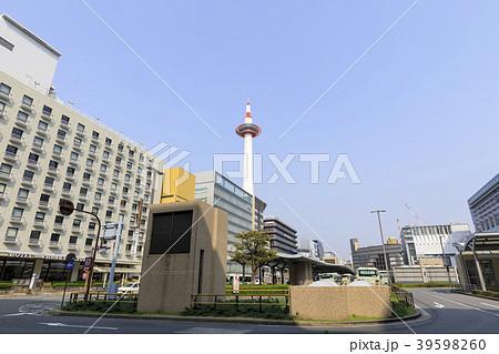 京都・都市風景・京都タワー 39598260