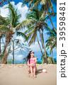 ビーチ 浜辺 女の写真 39598481