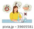 イラスト 挿絵 病気のイラスト 39605581