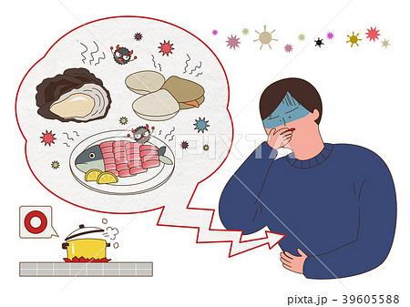Disease prevention - Vector illustration about avoiding a disease 001 39605588
