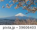 富士山と桜2 39606403