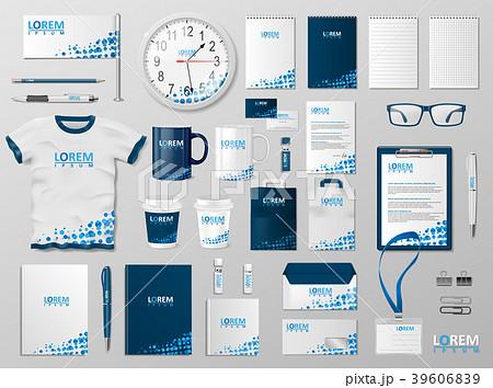 Corporate Branding identity template design 39606839