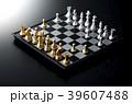 チェス 駒 ボードゲームの写真 39607488