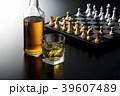 チェス 駒 ボードゲームの写真 39607489