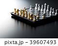 チェス 駒 ボードゲームの写真 39607493