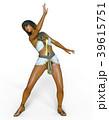 女性 ポーズ ファッションのイラスト 39615751